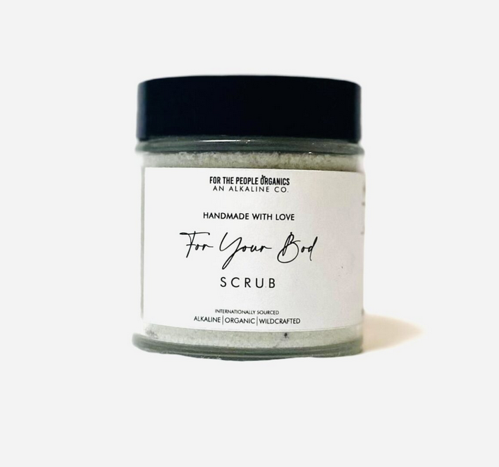 """For the People Organics """"For Your Bod"""" Scrub"""