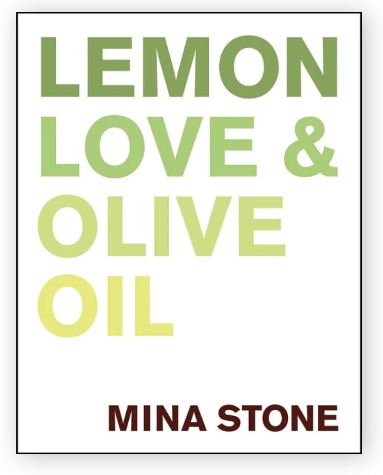 Harper Collins Lemon Love & Olive Oil