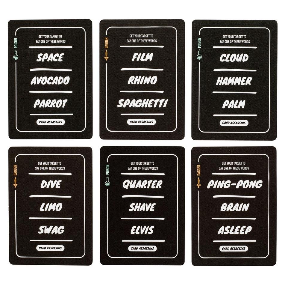 Stellar Factory Card Assassins Card Game