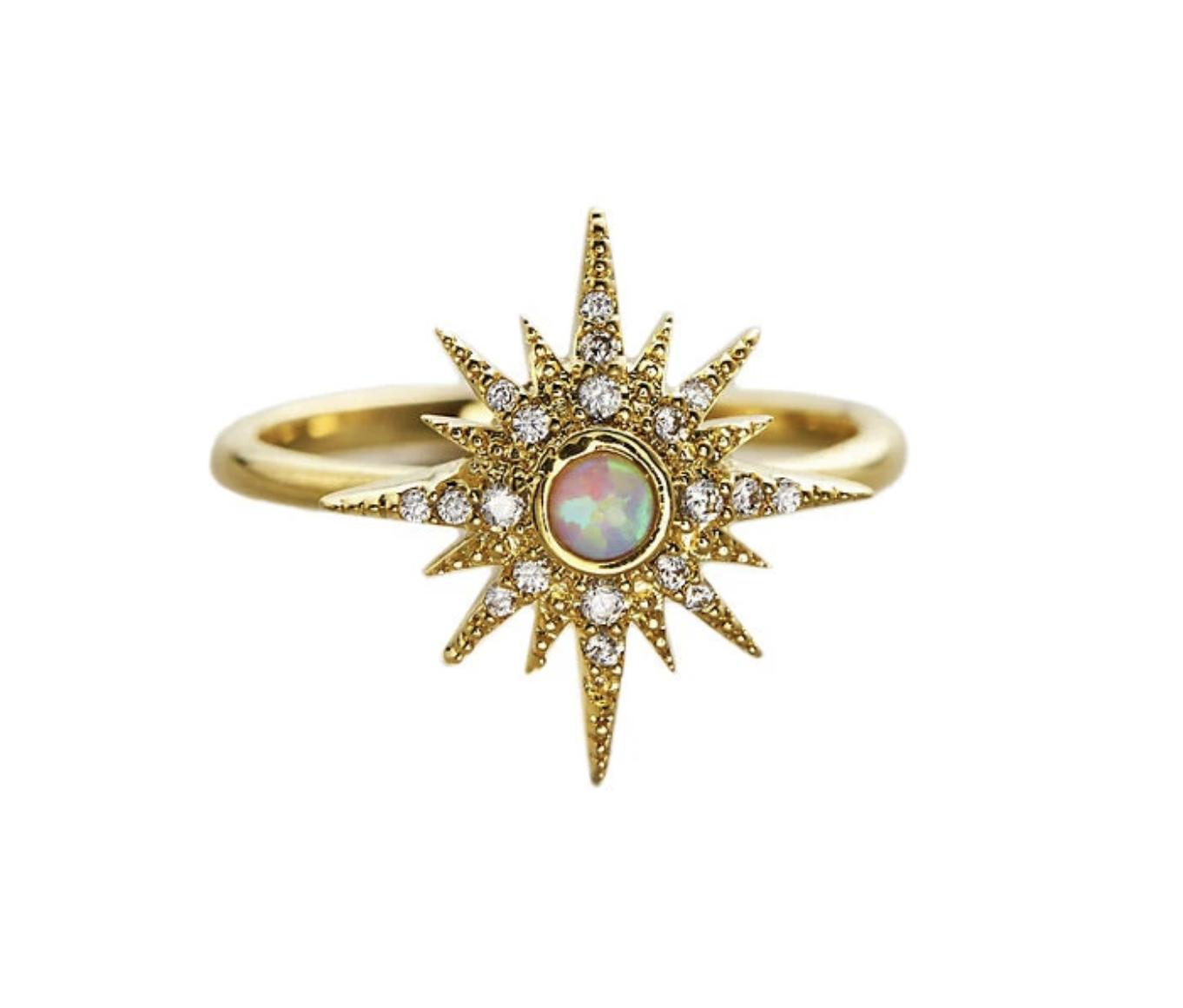 tai Starburst Opal Ring