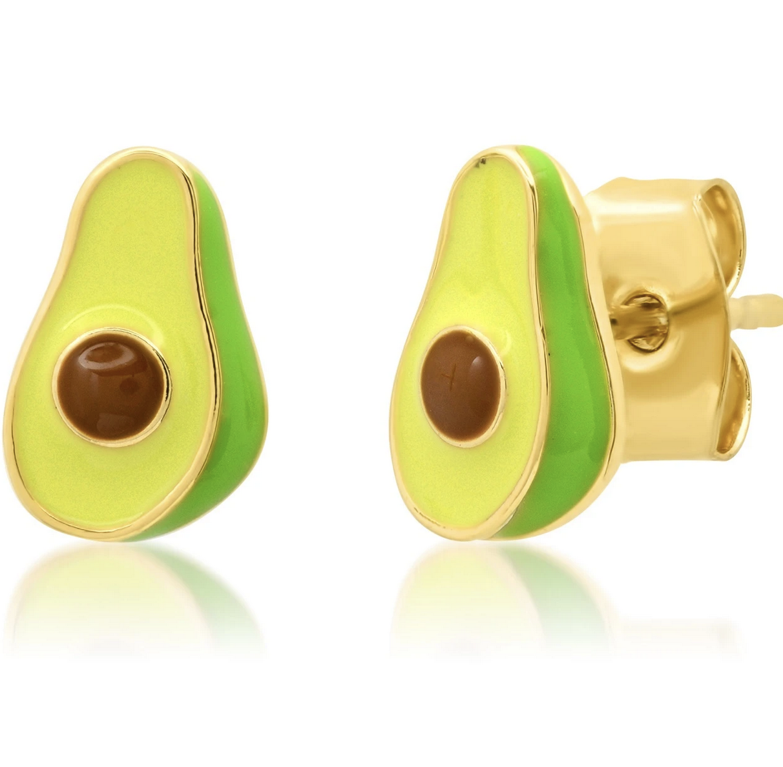 tai Green Avocado Earrings