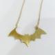 Metrix Jewelry Dainty Bat Necklace