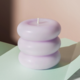 Fiorentina Sculpture Candle - Pale Lilac