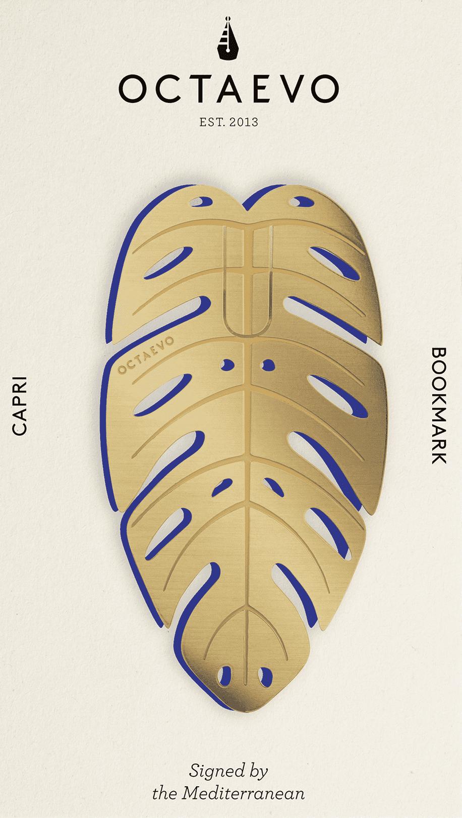 Fiorentina Brass Bookmark - Capri