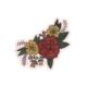 Golden Gems Rose Bouquet Sticker