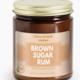 NaturalAnnie Essentials Brown Sugar Rum Soy Candle 9oz