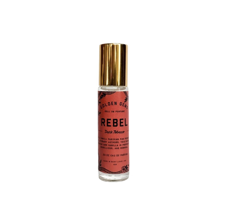 Golden Gems Roll On Perfume-Rebel