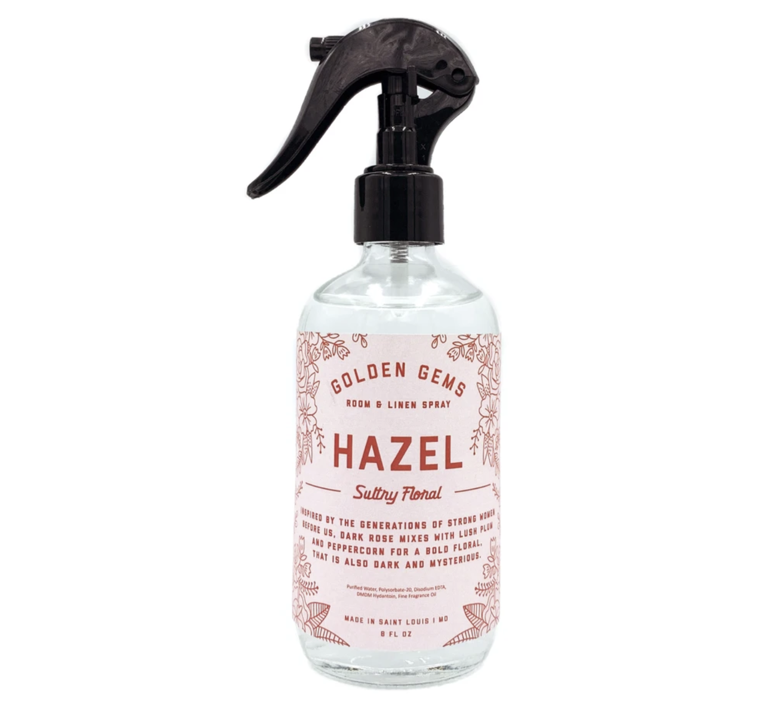 Golden Gems Room And Linen Spray-Hazel