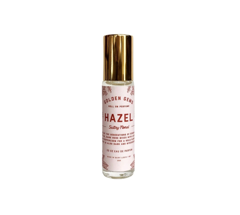 Golden Gems Roll On Perfume-Hazel