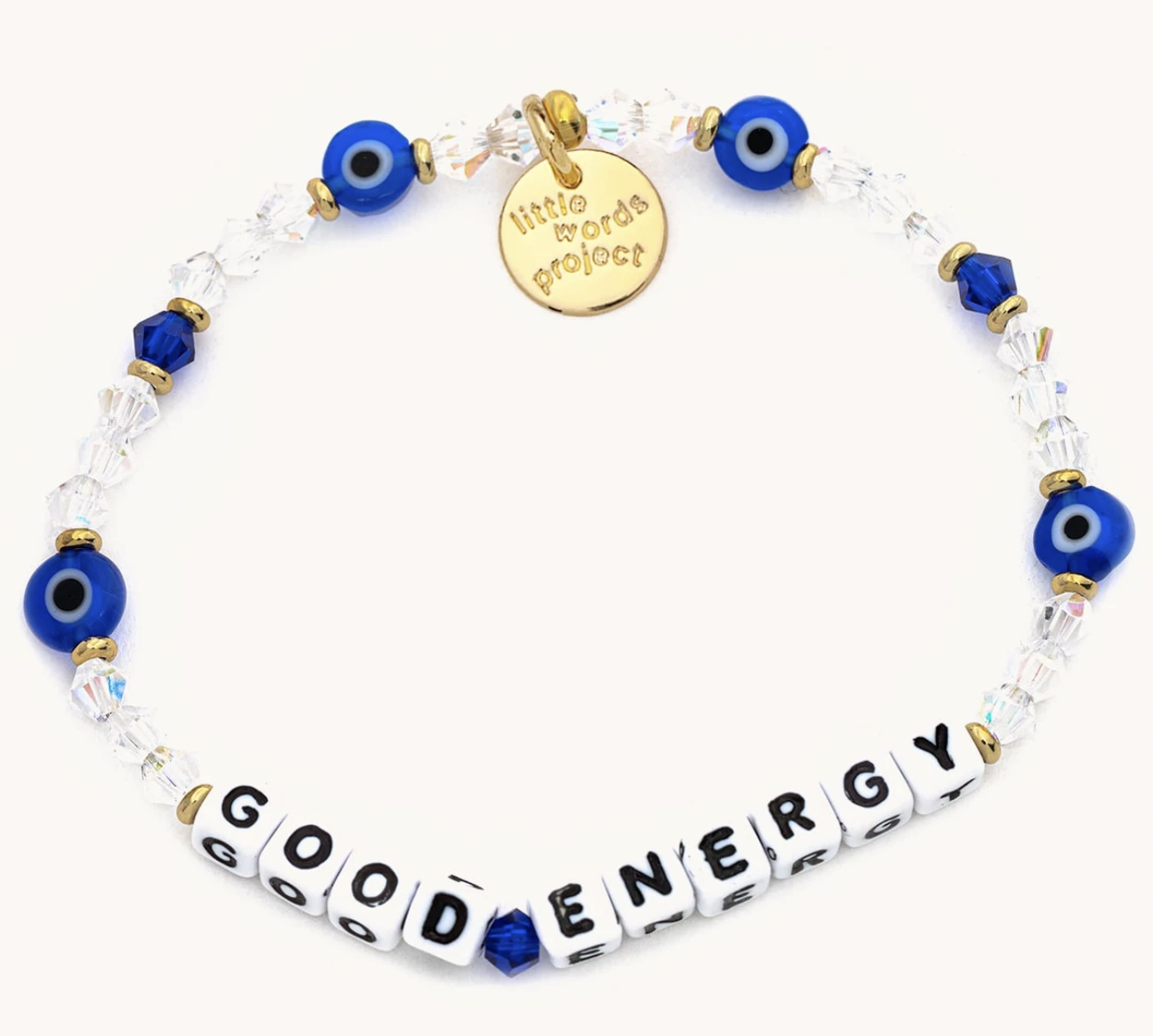 Little Words Project Good Energy-White-Lucky Symbols