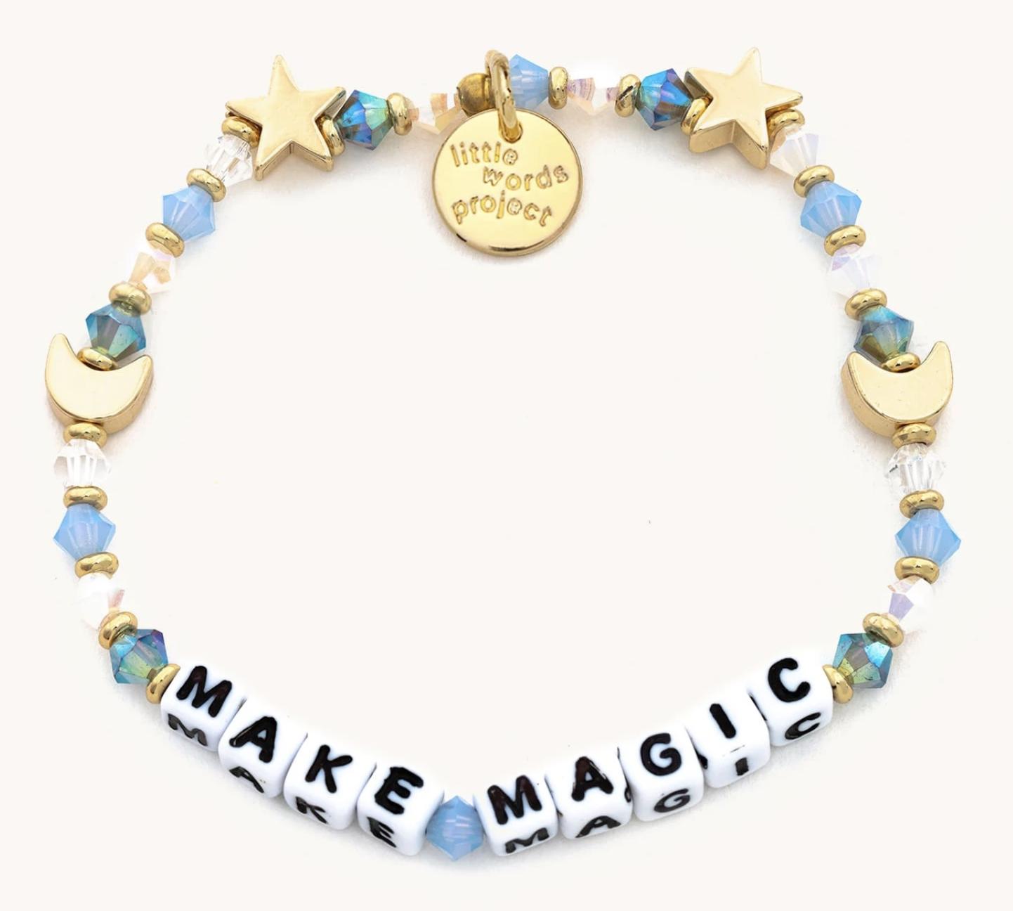 Little Words Project Make Magic-White-Glass Slipper