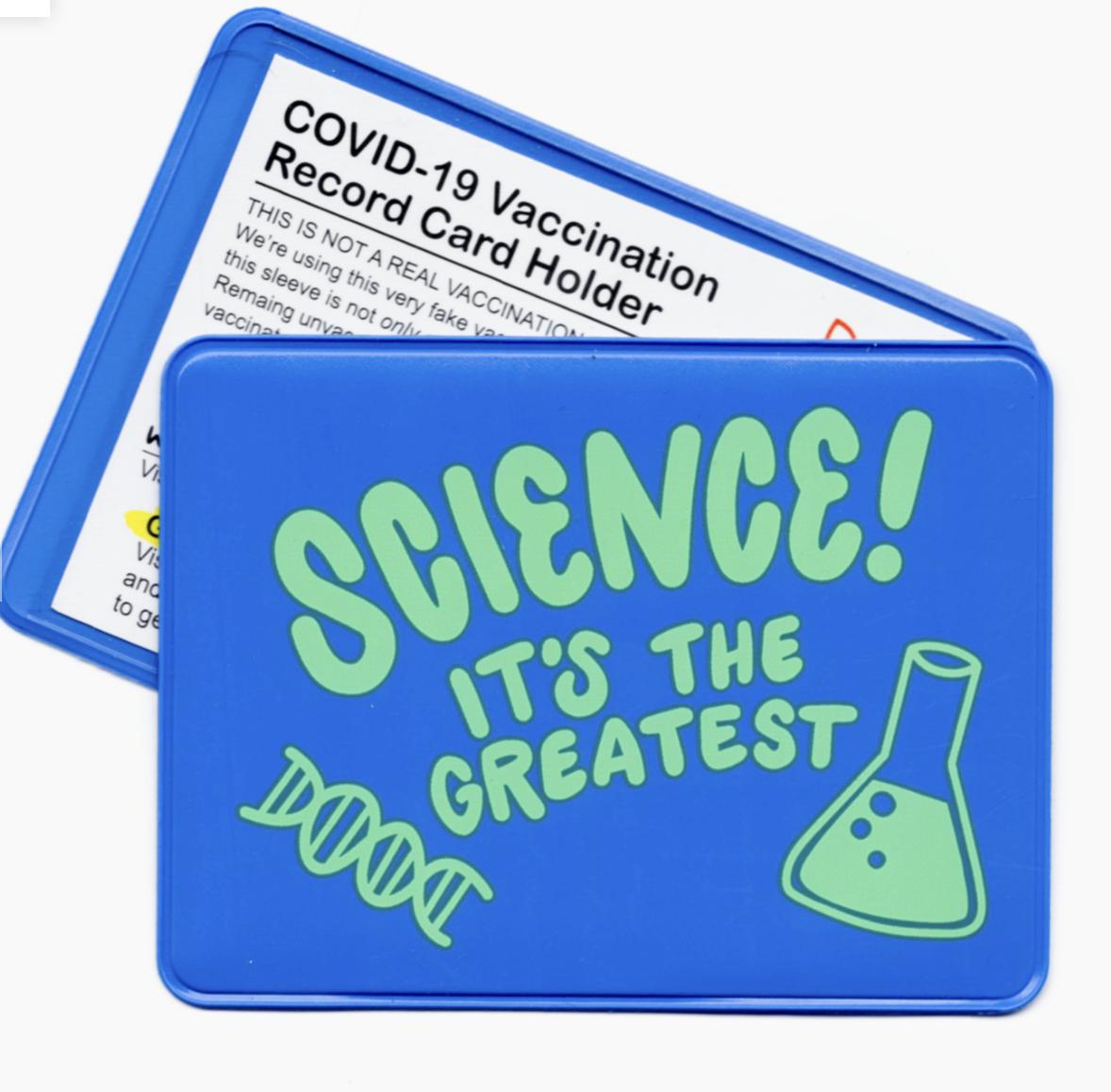 Rhino Parade Science! Vaccination Card Holder