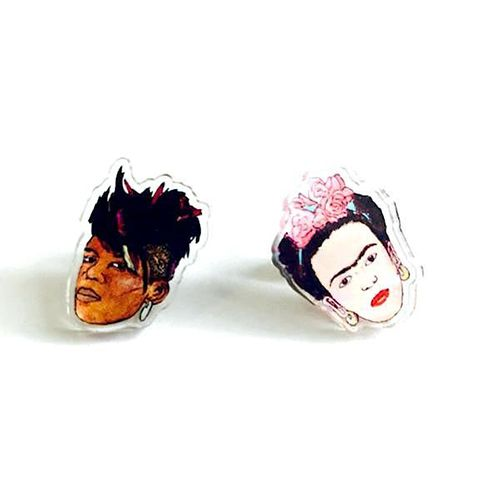 Leroy's Place Stud Earrings - Big Freeda/Frida