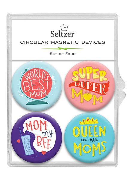 Seltzer Magnet Set - Mom