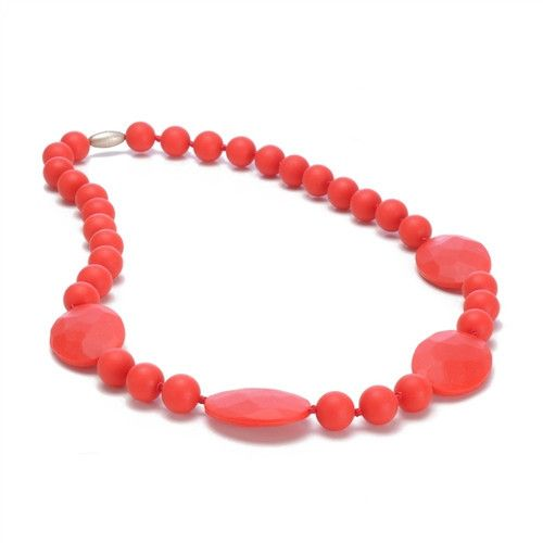 Chewbeads Chewbeads Perry Necklace - Cherry Red