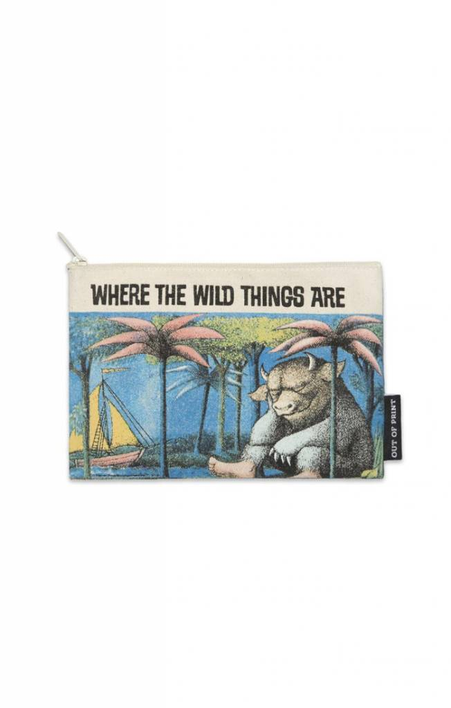 Out of Print Zip Pouch - Where the Wild Things Are