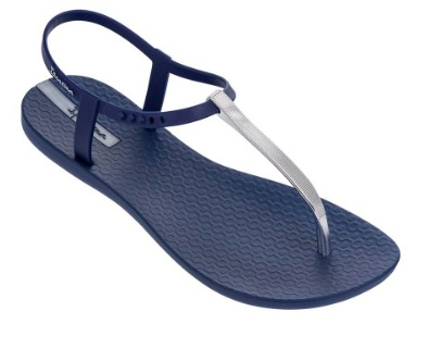 Ipanema Bandeau - Blue/Silver - CLEARANCE
