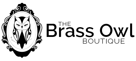 The Brass Owl is a boutique featuring shoes, accessories, and gifts.