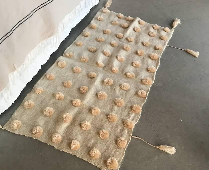 MEX Handmade MEX Handmade POM POM rugs