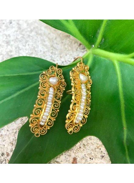 MEX Handmade MEX Handmade pearl earrings