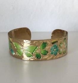 MEX Handmade MEX brass butterfly cuffs