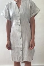 Thalassa HOME Thalassa SeersuckerPINstripe Dress