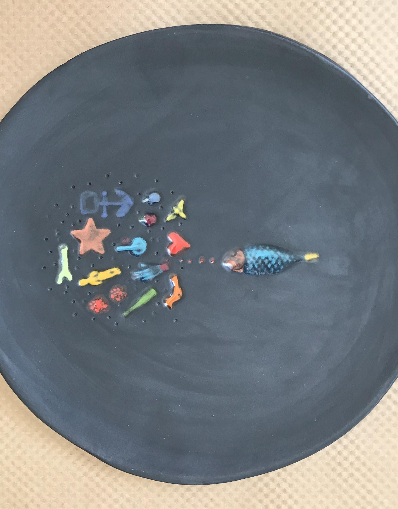 Lisa Neimeth Ceramics L. Neimeth Lrg Platter