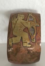 MEX Handmade MEX 1960's vintage Mayan cuff