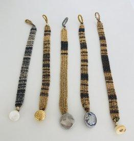 V. Simons V. Simons R.G. Woven Bracelet