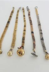 V. Simons V. Simons Thin Woven Bracelets
