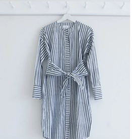 karu Karu Wrap shirt dress