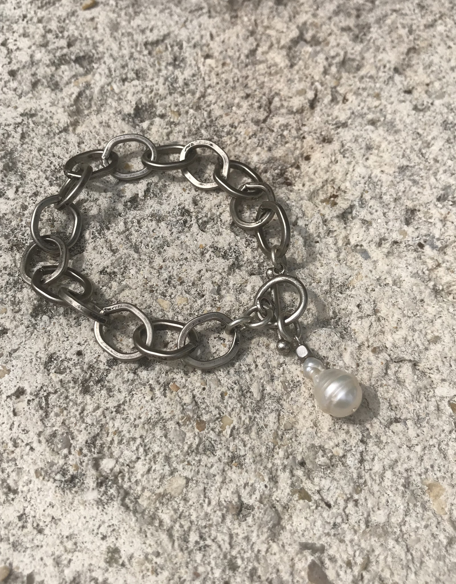 Marly Moretti Marly M Pearl/chain Bracelet