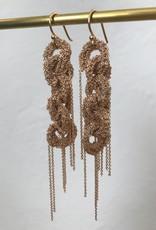 LA VIE BOHEME L.V.B. Chain earrings