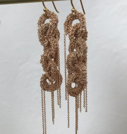 LA VIE BOHEME L.V.B. Chain earrings