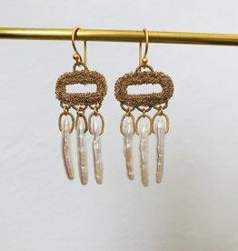 LA VIE BOHEME L.V.B. Chain w/BIWA pearls