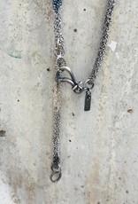 LA VIE BOHEME L.V.B. Blue/Silver Chain Neckalce
