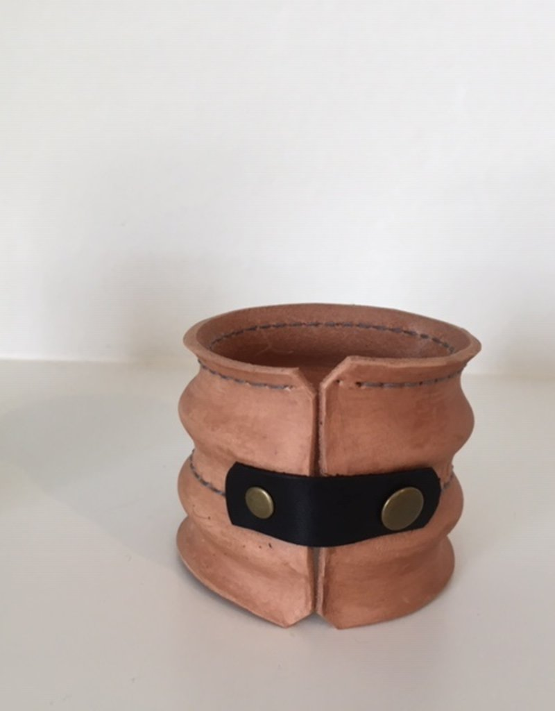 A Allen Design AA Design Leather Cuff