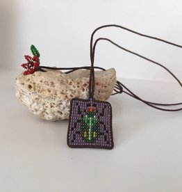 kalasoma Kalasoma beaded bug necklace