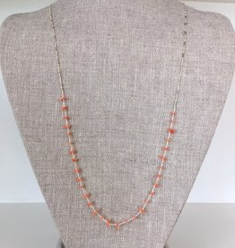 See Real Flowes SRF Coral Desert Necklace