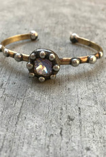 Mikal Winn Mikal C1028 moonlight Swarovski on cuff