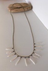 See Real Flowes SRF Pearl Sun Necklace
