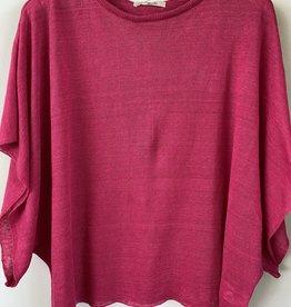 ICHI Antiquités ICHI Linen SL Drapey Knit Pullover