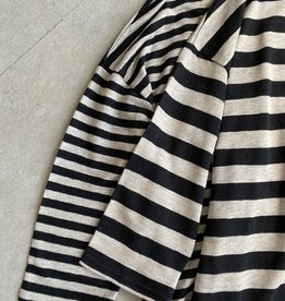 ICHI Antiquités ICHI Stripe Linen Dress