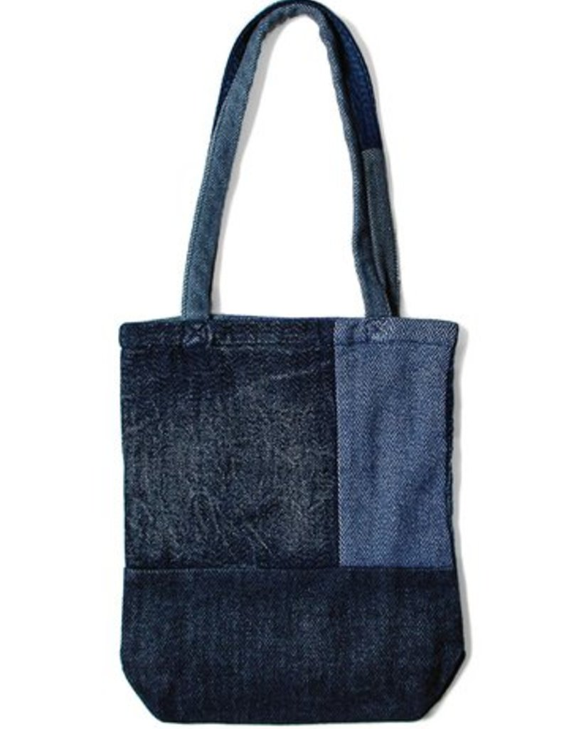 kapital Kapital Tweed Patchwork Tote