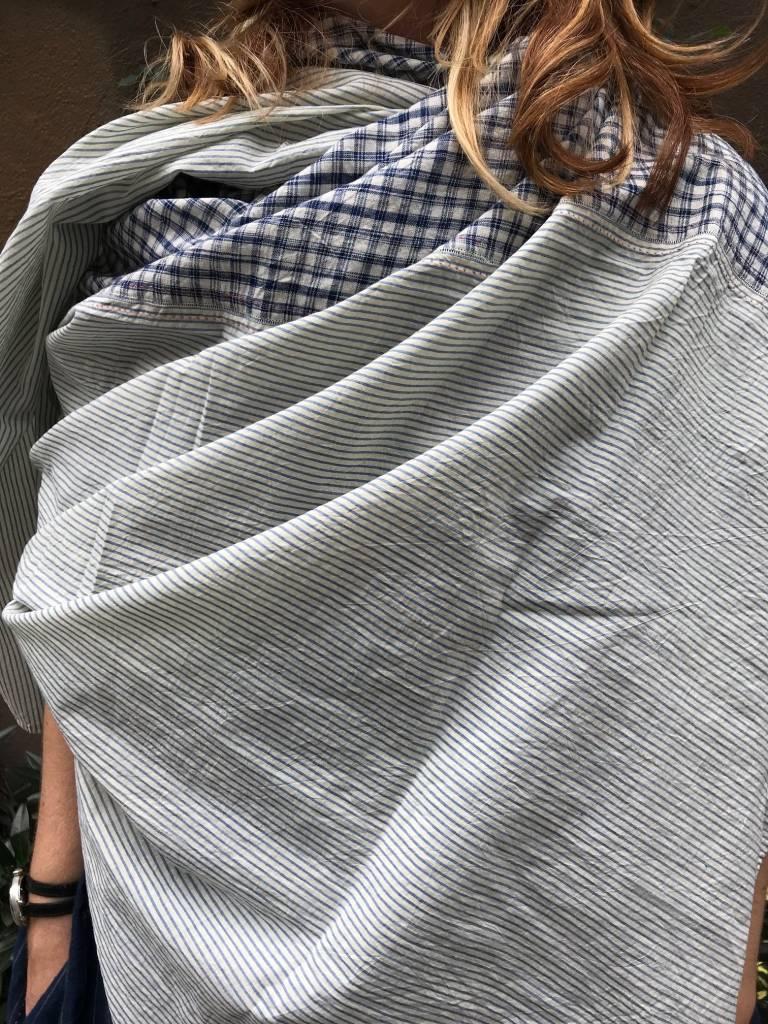 PERO Pero Mix fabric Scarf
