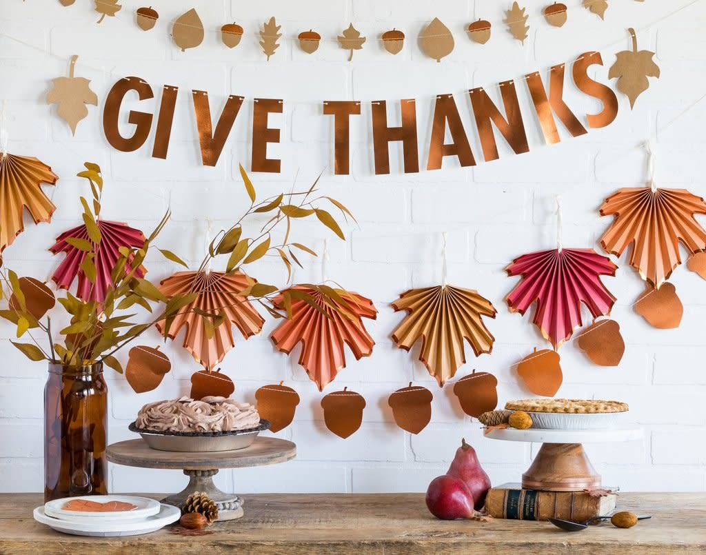My Minds Eye Harvest Give Thanks Banner
