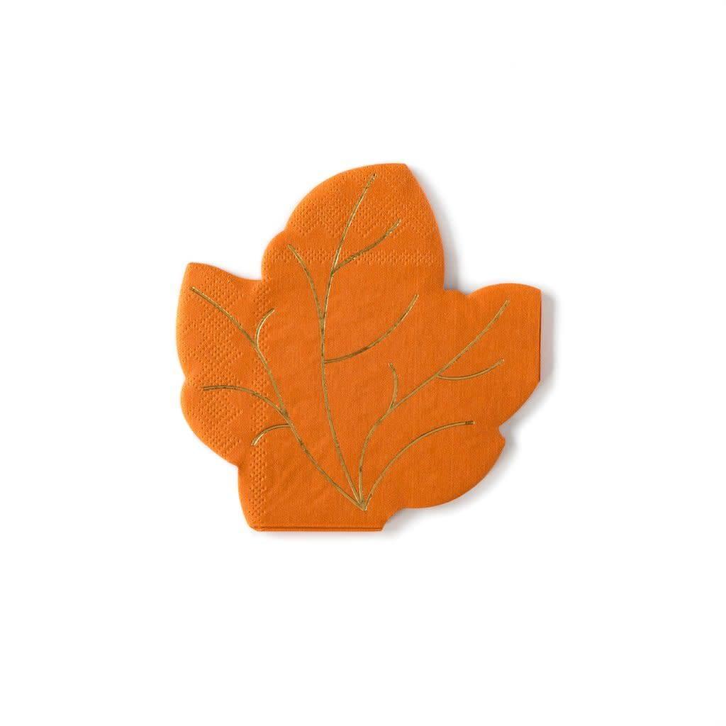 My Minds Eye Harvest Leaf Napkin
