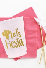 when it rains paper co. let's fiesta cups
