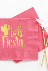 when it rains paper co. let's fiesta napkins