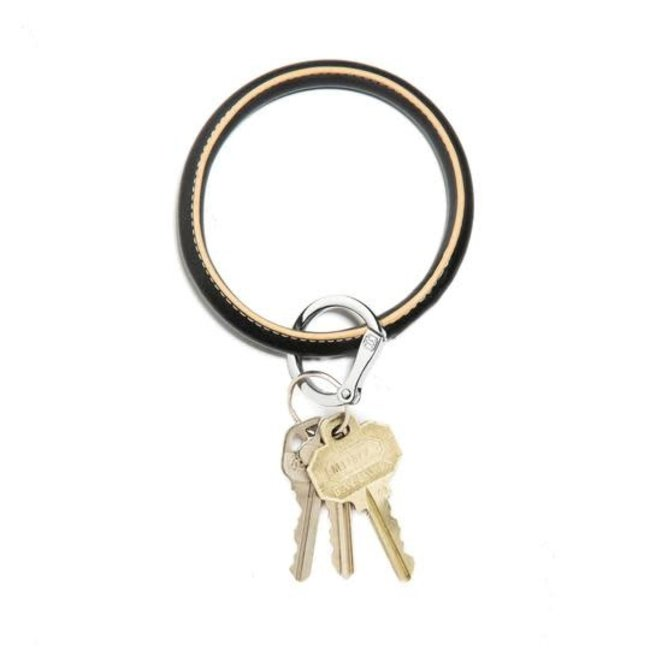 Big O Back in Black Key Ring